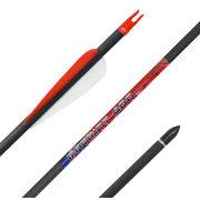 Карбоновая стрела для лука Bowmaster Patriot 400 оперение 3'' Streamline