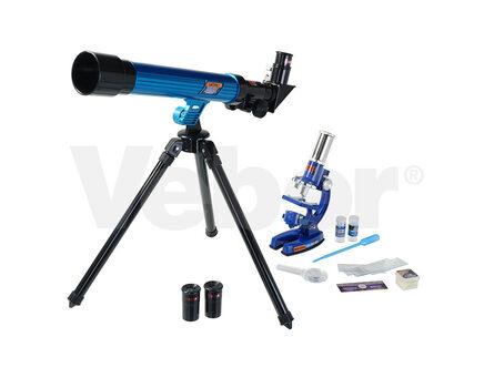 Купите детский микроскоп Микромед mp-450 и телескоп в интернет-магазине
