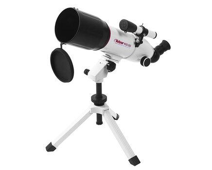 Купите линзовый телескоп Veber 400/80 AZ (рефрактор, 80мм, F=400мм, 1:5) на азимутальной монтировке в интернет-магазине