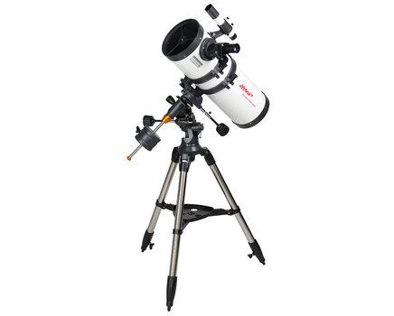 Купите телескоп Veber PolarStar 1400/150 EQ (рефлектор Ньютона, 150мм, F=1400мм, 1:6.6) на экваториальной монтировке в интернет-магазине