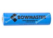 Литий-ионный аккумулятор с зарядкой BowMaster 18650 2400 mAh