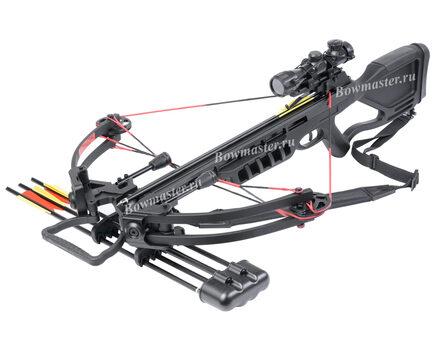 Купите блочный арбалет Man-Kung MK-380 черный в Краснодаре в интернет-магазине